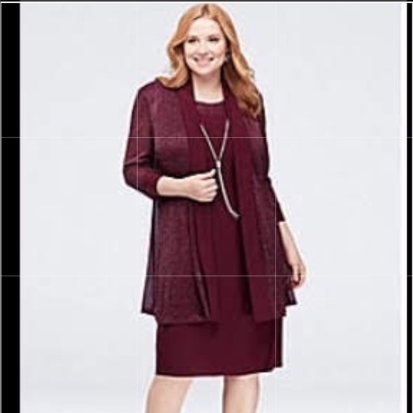 R&M Richards Dresses & Skirts - ▪️R&M RICHARDS▪️Formal Burgundy Dress 20W EUC